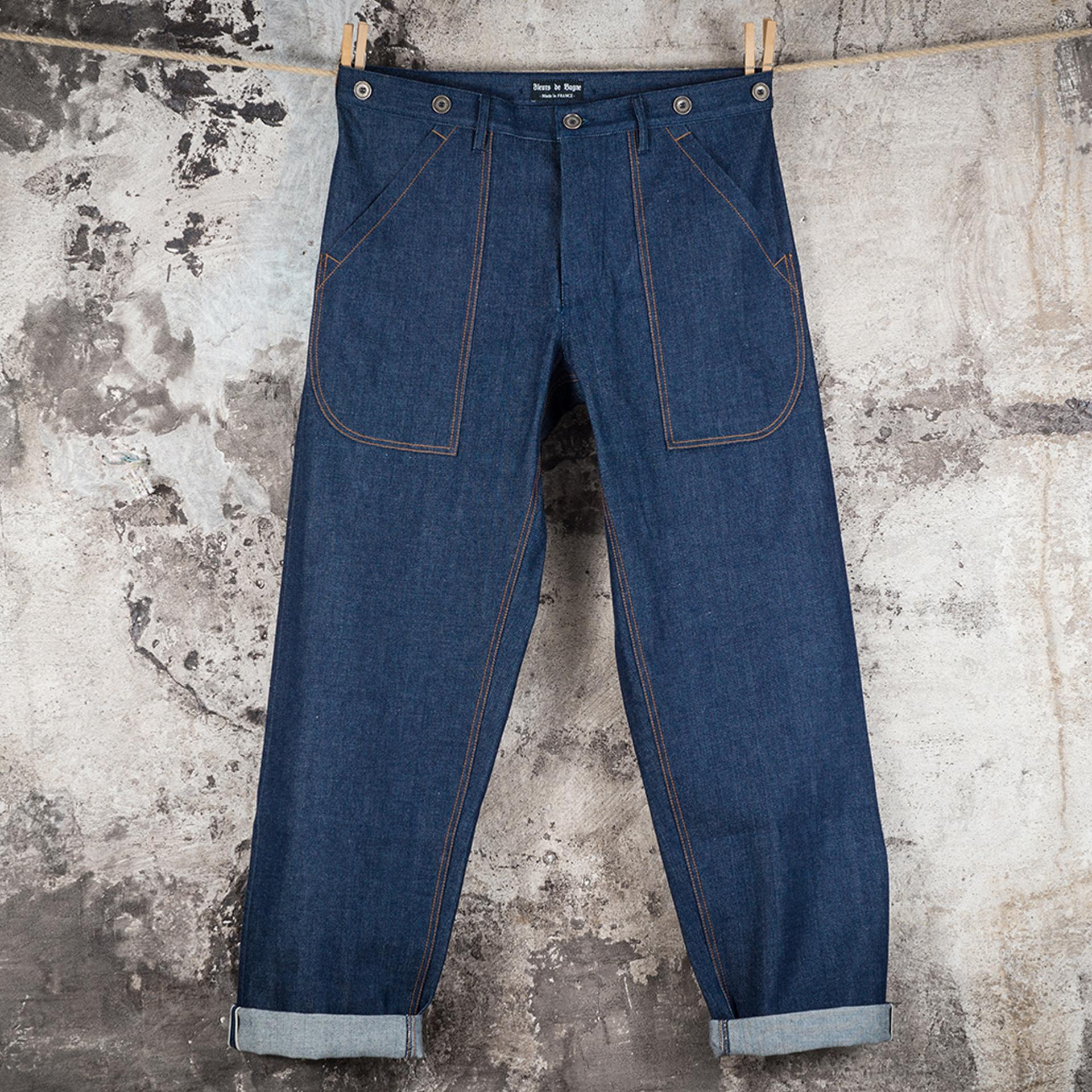 LE DENIM CARGO SELVEDGE