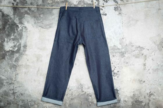 "LE PANTALON ""PENITENCIER"" SELVEDGE"